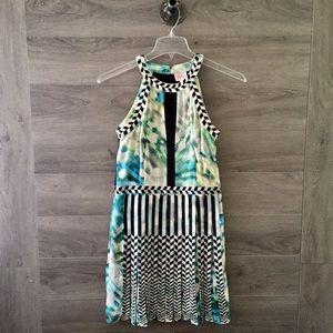 Parker Silk Pleated Dress